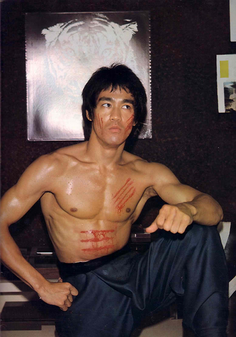 Bruce Lee graffi